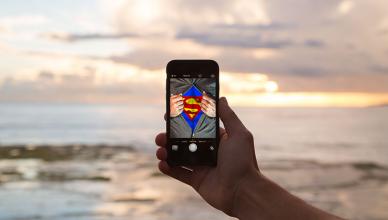 superhelden körper